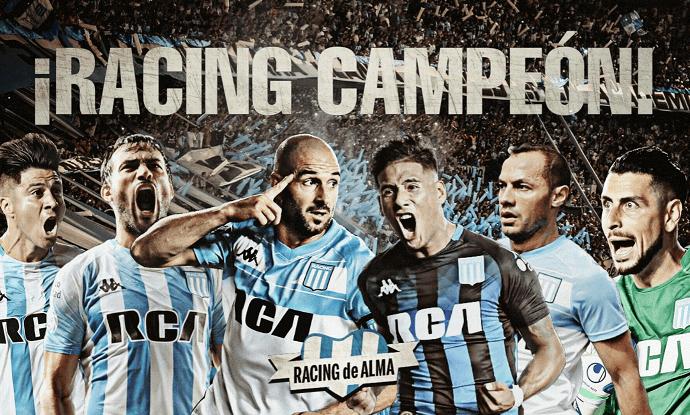 Racingu 18. naslov prvaka Argentine!