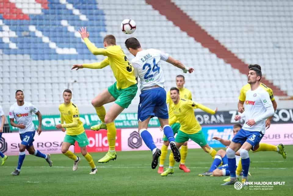 Hajduk se ušuljao u Europu VIDEO