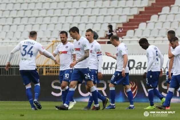 Pet pogodaka u slavlju Hajduka nad Interom na Poljudu (VIDEO)