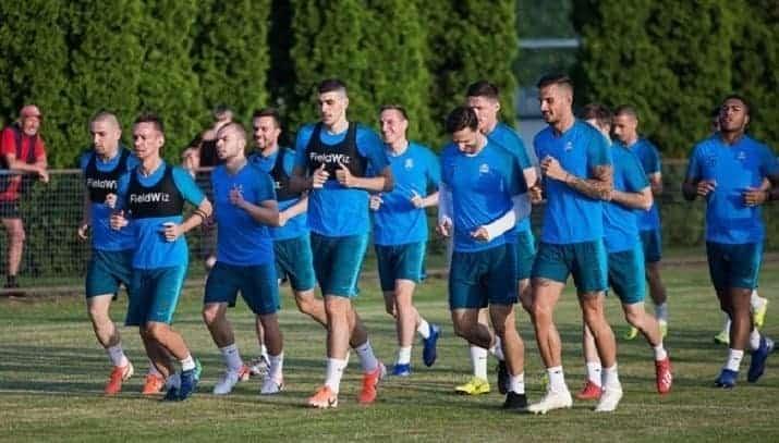 Bijelo-plavi odradili prvi trening u novoj sezoni (VIDEO)