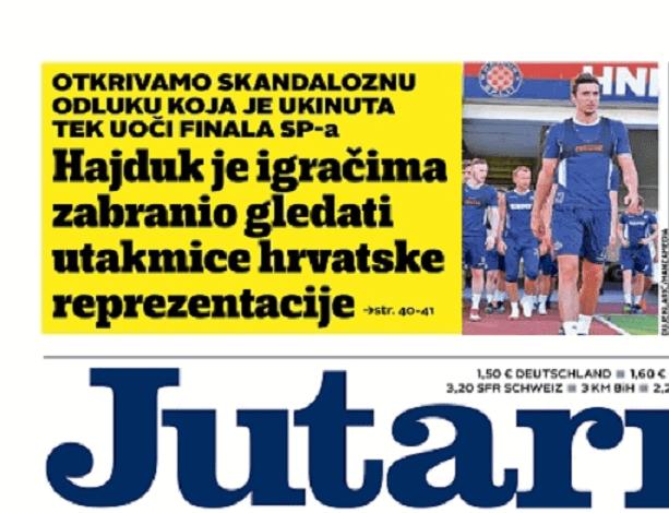 Hajduku nepravomoćno 5.000 kuna zbog laži Zdravka Reića