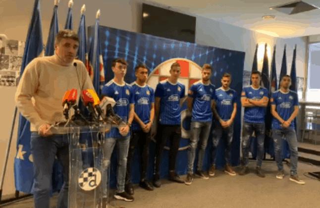 Dinamo potvrdio dolazak Arsenalovog U23 kapetana i predstavio obavljeni posao u zimskom prijelaznom roku